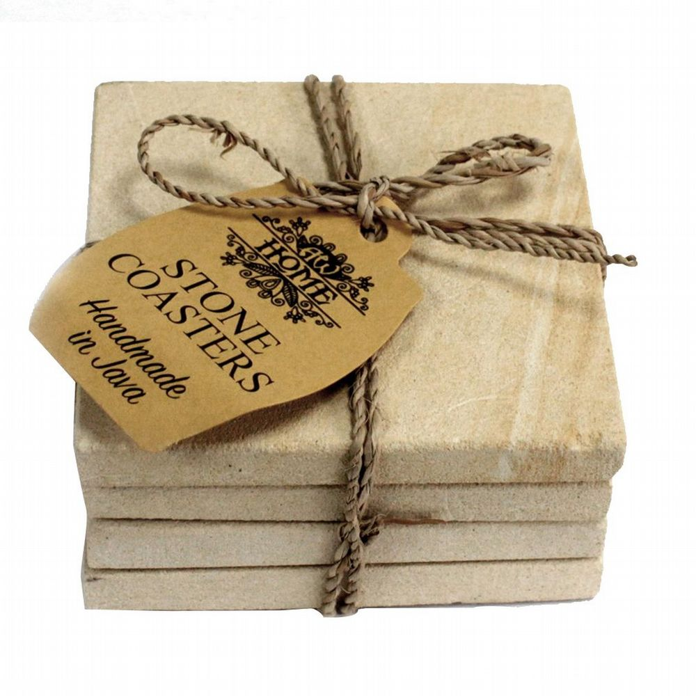 Coasters - Set of 4 - Sandstone